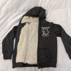 Disney Parks Disneyland 55 Plush Hooded Jacket